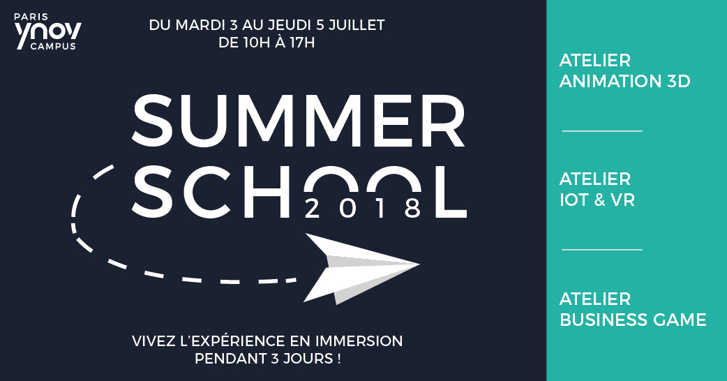 Summer School – Tentez l'expérience en Immersion